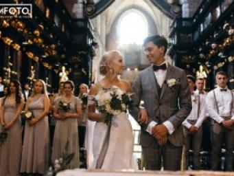 Patrycja&Sebastian - wesele z bajki w amerykańskim stylu